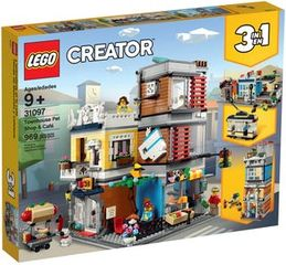 LEGO Creator: Townhouse Pet Shop & Café 3in1 (31097)