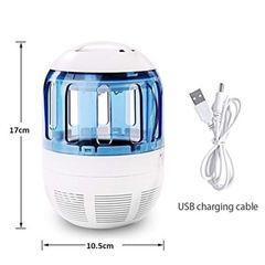 Σύστημα Εξολόθρευσης Κουνουπιών USB με Ανεμιστήρα και Φωτισμό LED - Z&J 518-A