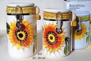Βαζα Αποθήκευσης Κουζίνας  Sunflower   COS6201/18