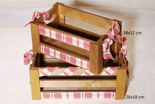 Καλάθια ξύλινα Σ/2   GOU15/1340/1