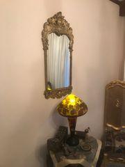 Καθρέφτης μεταλλικός vintage χειροποιητος