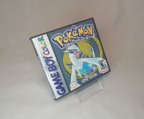 Pokemon Silver Gameboy Color custom case