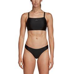 fitness 3 stripes bikini DQ3309 ΜΑΥΡΟ