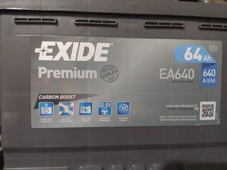 Exide prenium carbon boost 64ah 640EN ΚΑΙΝΟΥΡΙΑ με αποδειξη