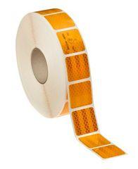 Ανακλαστική ταινία 3M κίτρινη (αντανακλαστικό διαμάντι) πλάτους 50mm