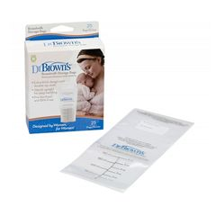 Dr. Brown's - Σακουλάκια φύλαξης μητρικού γάλακτος (25 τεμ.)
