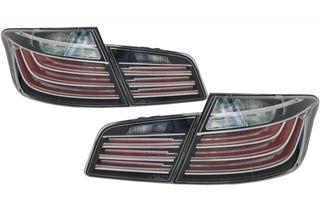 ΟΠΙΣΘΙΑ LED ΦΑΝΑΡΙΑ LCI-DESIGN ΓΙΑ BMW 5 SEDAN (F10) (BLACK LINE)