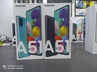 SAMSUNG GALAXY A51 DUAL SIM 4GB/128GB Σφραγισμενα ετοιμοπαραδοτα
