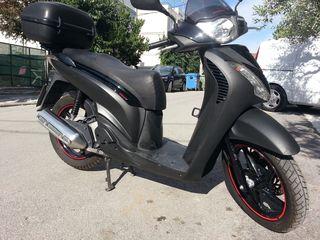 Honda SH 150i '11  sport έκδοση Μαύρο Ματ Χρώμα