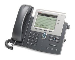 CISCO used IP Phone 7942G, Dark Gray  (DATM) 31862