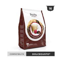 Κάψουλες Συμβατές Dolce Gusto Dolce Vita Cappuccino Maxiginseng Σετ 16 τεμαχίων