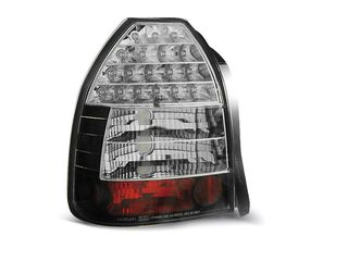 φαναρια πισω HONDA CIVIC 09.95-02.01 3D BLACK LED eautoshop gr