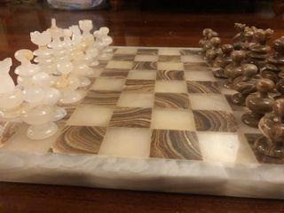 Σκάκι μαρμάρινο - συλλεκτικό