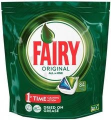 Fairy Caps Original Πλυντηρίου Πιάτων Λεμόνι 84 καψουλες
