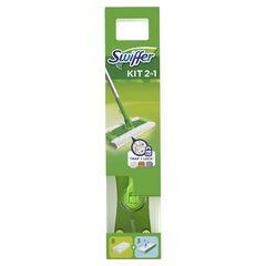 Swiffer kit πατώματος + 8 στεγνά + 3 υγρά πανάκια