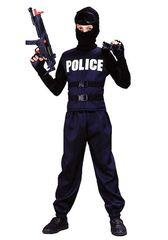 Αποκριάτικη Στολή Αστυνομικός 31368 ΜΑΥΡΟ
