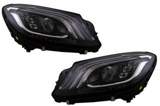 ΦΑΝΑΡΙΑ ΜΠΡΟΣΤΑ Full LED suitable for MERCEDES S-Class W222 Maybach X222 (2013-2017) Facelift Look ΕΤΟΙΜΟΠΑΡΑΔΟΤΑ