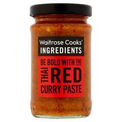 Σάλτσα Κάρυ Waitrose Cooks Ingridients Thai Red Curry Paste 190g