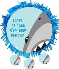 Πινιάτα πάρτυ Shark Attack