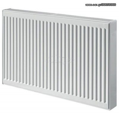DELONGHI Radel 11/600/800 871 Kcal Θερμαντικό Σώμα Πάνελ (Panel) Εξωτερικού Βρόγχου Λευκό
