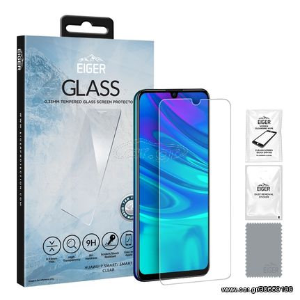 Eiger Eiger Huawei P Smart (2019 / 2020) 2.5D GLASS Clear (EGSP00463)