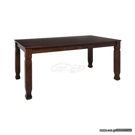 DEBBY Τραπέζι 160x90cm Σκ.Καρυδί