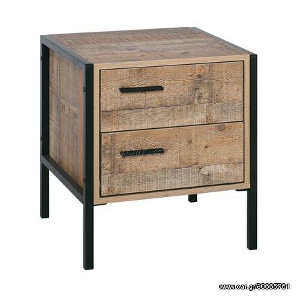 PALLET-W Κομοδίνο 44x40x50 Antique Oak