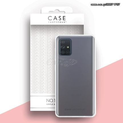 FortyFour  Case FortyFour Galaxy A71 No. 1 Clear (CFFCA0416)