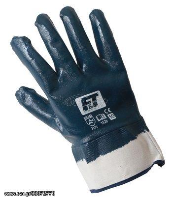 F&T 1520 Σετ 12 Ζευγάρια Γάντια Πετρελαιοειδών-Λιπαντικών (Νούμερο 11)