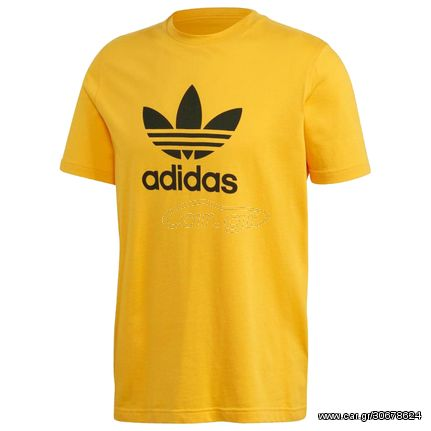 Adidas Trefoil T-Shirt - Yellow GD9913