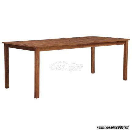 Τραπέζι Κήπου 200 x 90 x 74 εκ. από Μασίφ Ξύλο Ακακίας