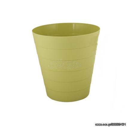 Κάδος Πλαστικός 24cm x 23cm Πράσινος 1.3094G