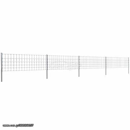 Φράχτης με Στύλους 50 μ. 80/6/15 Επιψευδαργυρωμένος Σίδηρος