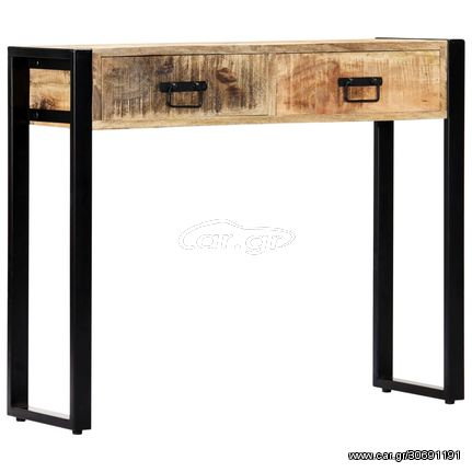 Τραπέζι Κονσόλα 90 x 30 x 75 εκ. από Μασίφ Ξύλο Μάνγκο