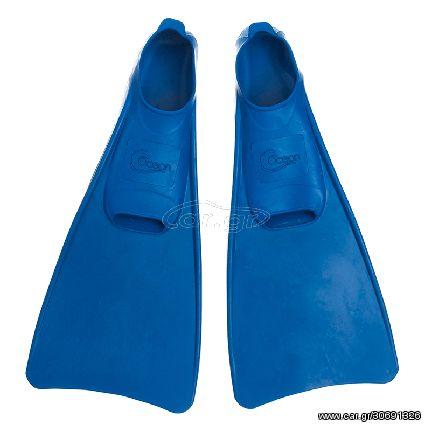 Βατραχοπέδιλα Ocean® Καουτσούκ 34/35 Μπλε DF300