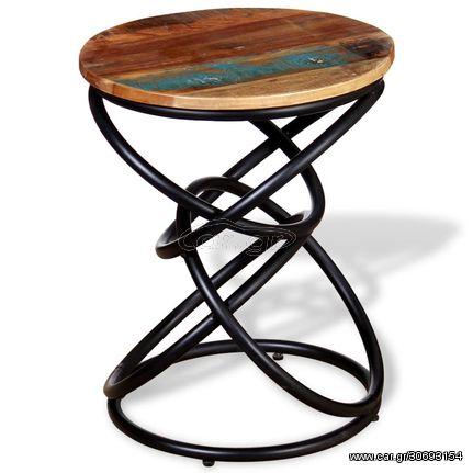 Βοηθητικό Τραπέζι από Μασίφ Ανακυκλωμένο Ξύλο
