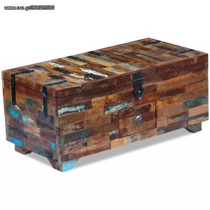 Τραπεζάκι Σαλονιού / Μπαούλο 80 x 40 x 35 εκ. Ανακυκλωμένο Ξύλο