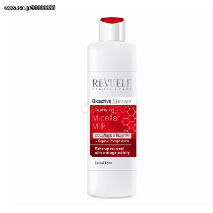 Revuele Micellar Bioactive Collagen + Elastin Cleansing Milk Γαλάκτωμα Καθαρισμού 200ml