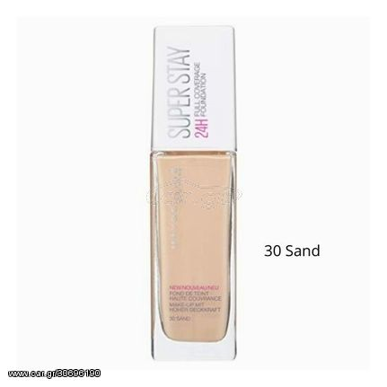 Maybelline Superstay 24h Full Coverage foundation 30ml No30 Sand