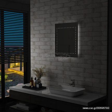 Καθρέφτης Μπάνιου Επιτοίχιος με LED 50 x 60 εκ.