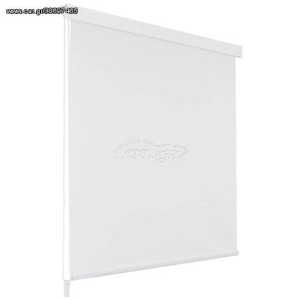 Κουρτίνα Μπάνιου Ρολό Λευκή 120 x 240 εκ.