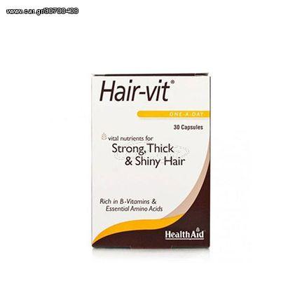 Health Aid Hairvit 30 Caps Υγεία Μαλλιών