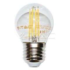 LED Bulb - 4W Filament Patent E27 G45 Warm White