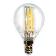 V-TAC LED Bulb - 4W Filament Patent E14 P45 4500K