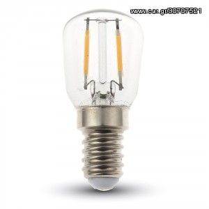 V-TAC LED Bulb - 2W Filament E14 ST26 6000K