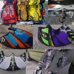 SlingShot '14 3 kites / 1 bar / 1 board