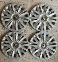 """Τάσια εργοστασιακά για σιδερένιους τροχούς 15"""", από VW Golf 6, 4 τεμάχια"""