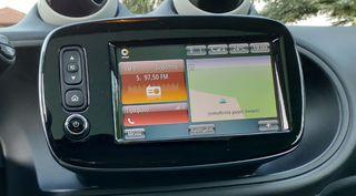 Smart 453 Original ,GPS πλήκτρο Multimedia TFT-Οθόνη
