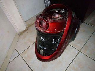 Ηλεκτρική σκούπα 2000 watt με κάδο