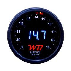 Όργανο Wideband WB Air Fuel Ratio Gauge A/F  - 52mm slim KAI LSU 4.2 - αναλογία αέρα βενζινης made in USA